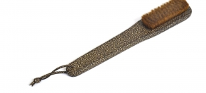 Shagreen Leather Clothes Brush