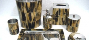Horn & Metal Bath Collection