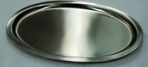 Pewter-finish Tray