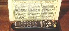 Custom Wood & Plexiglas Remote Caddy