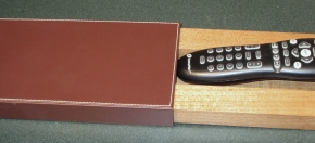 Drawer-style Remote Caddy