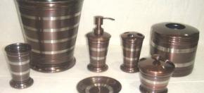Bronze & Stainless Bath Accessories