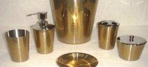 Brass-finish Bath Accessories