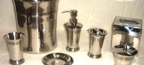 Concave Stainless Bath Accessories