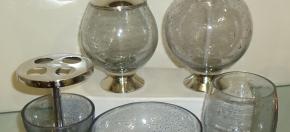 Rice-Glass Bath Accessories