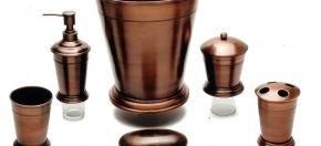 Antique Copper-finish Bath Accessories