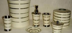 Matte Ivory Bath Collection