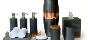 Black Teakwood & Copper Collection