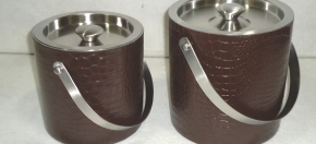 Double-wall Stainless Ice Buckets