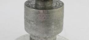 Stacks Hammered Aluminum Table/Stool