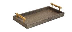 Shagreen Leather Tray