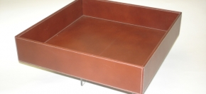 Square Tray for Bath Linens & Amenities
