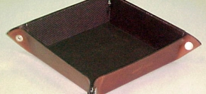 Snap-corner tray for Desk or Dresser Top